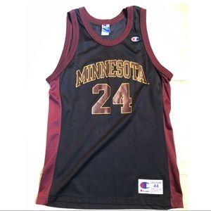 Minnesota Gophers Basketball Jersey